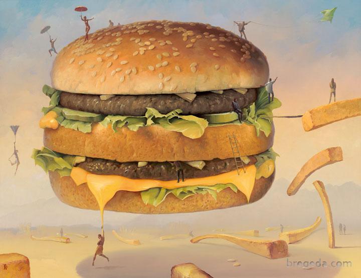 Victor Bregeda, Big Mac