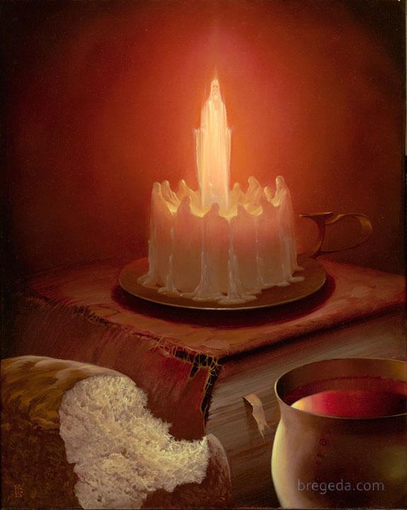 """Eucharist IV"" by Victor Bregeda"