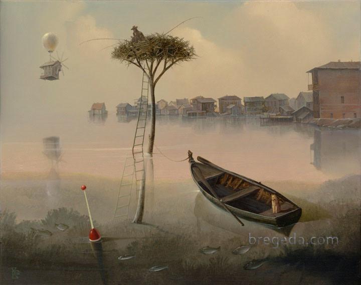 Victor Bregeda, Gone Fishing