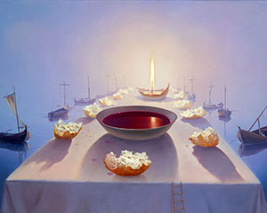 Victor Bregeda, Sacrament
